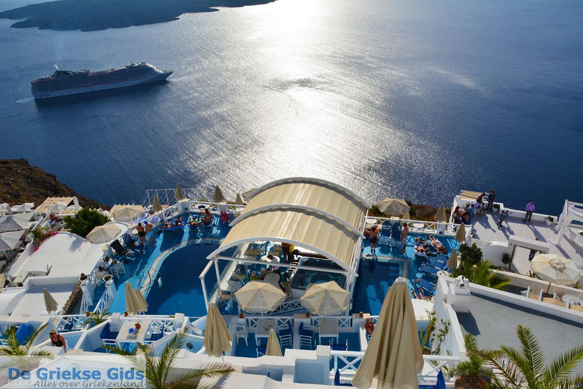 foto Firostefani Santorini | Cycladen Griekenland  | Foto 0047