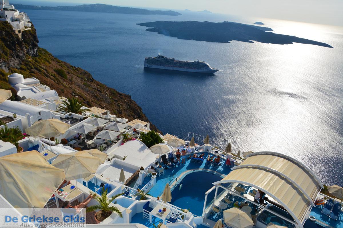 foto Firostefani Santorini | Cycladen Griekenland  | Foto 0050