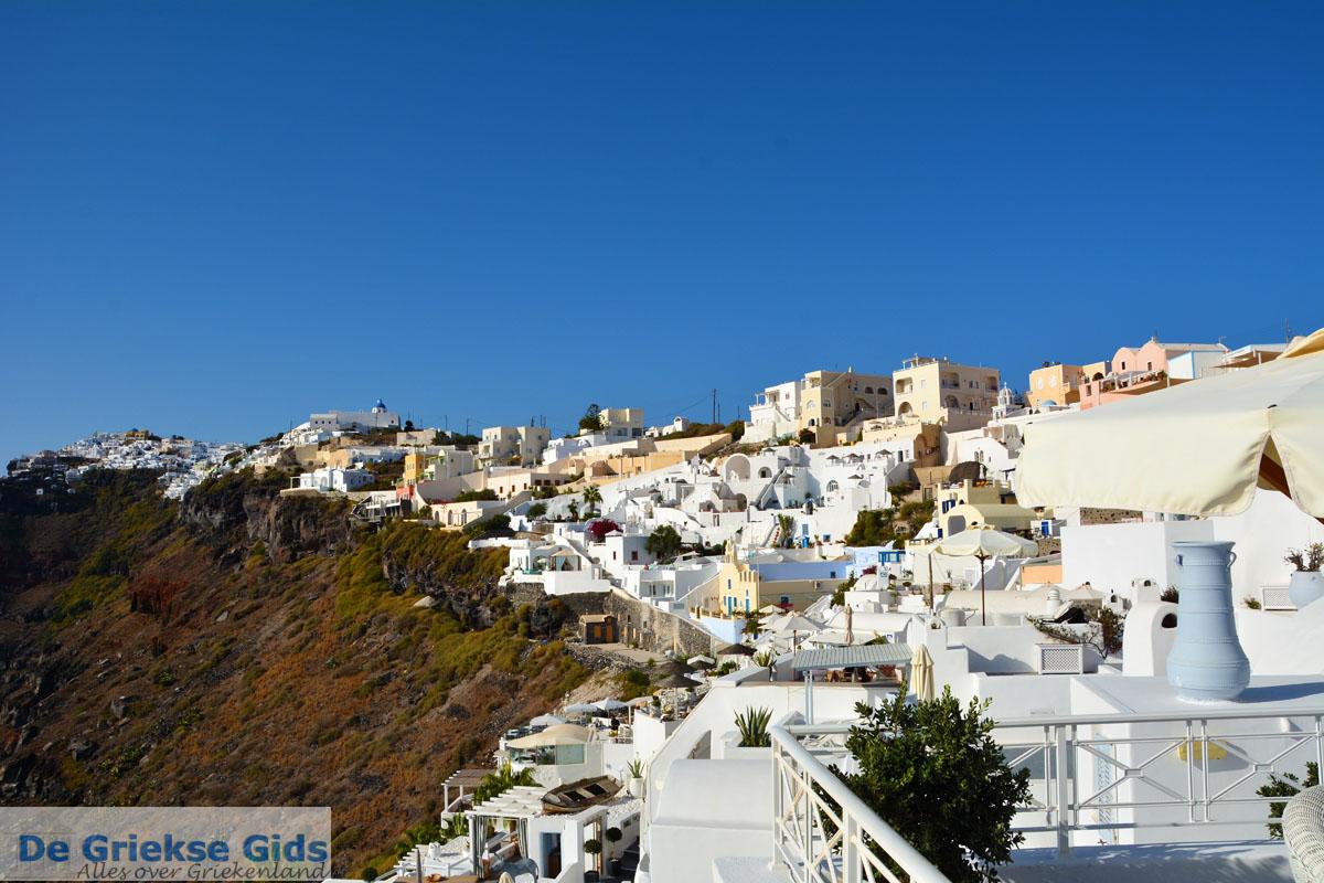 foto Firostefani Santorini | Cycladen Griekenland  | Foto 0052