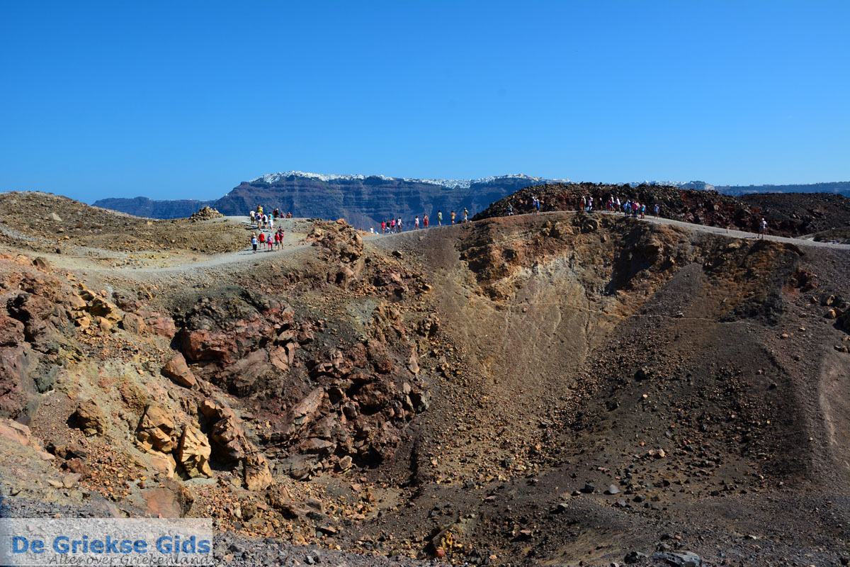 foto Palia en Nea Kameni Santorini | Cycladen Griekenland  | Foto 57