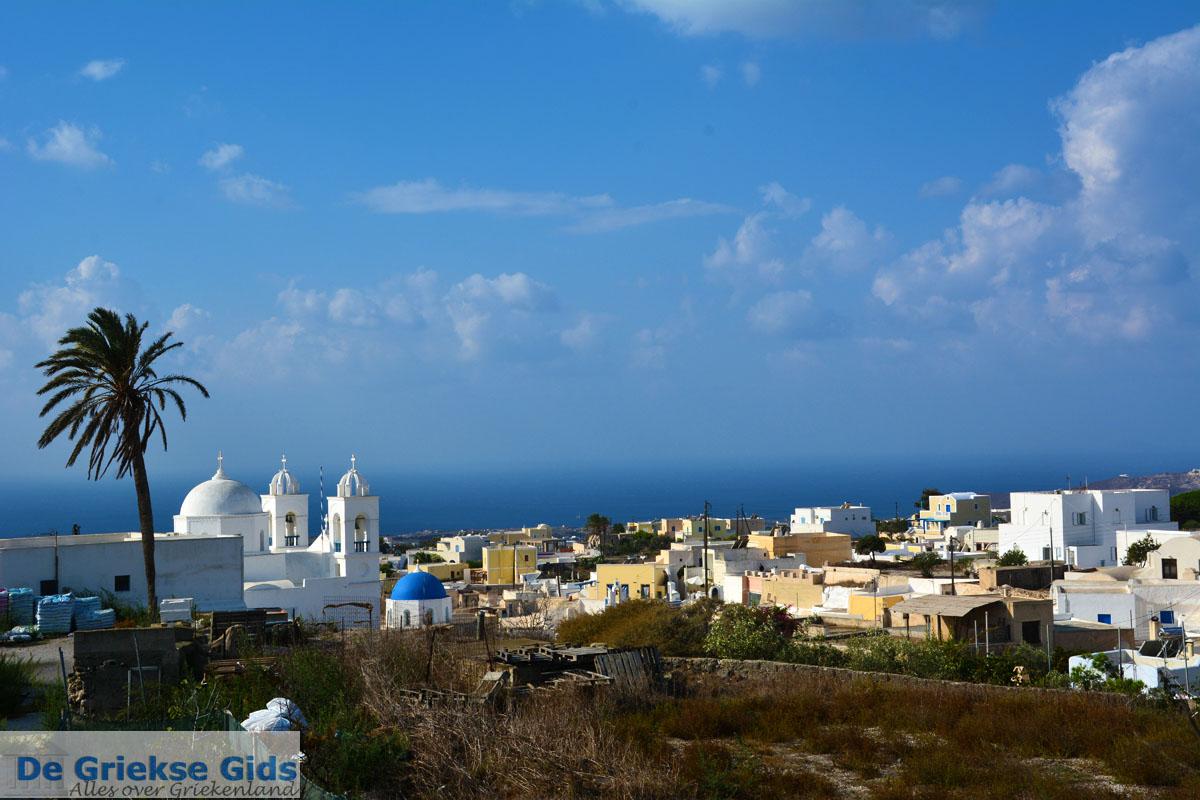 foto Megalochori Santorini | Cycladen Griekenland | Foto 1