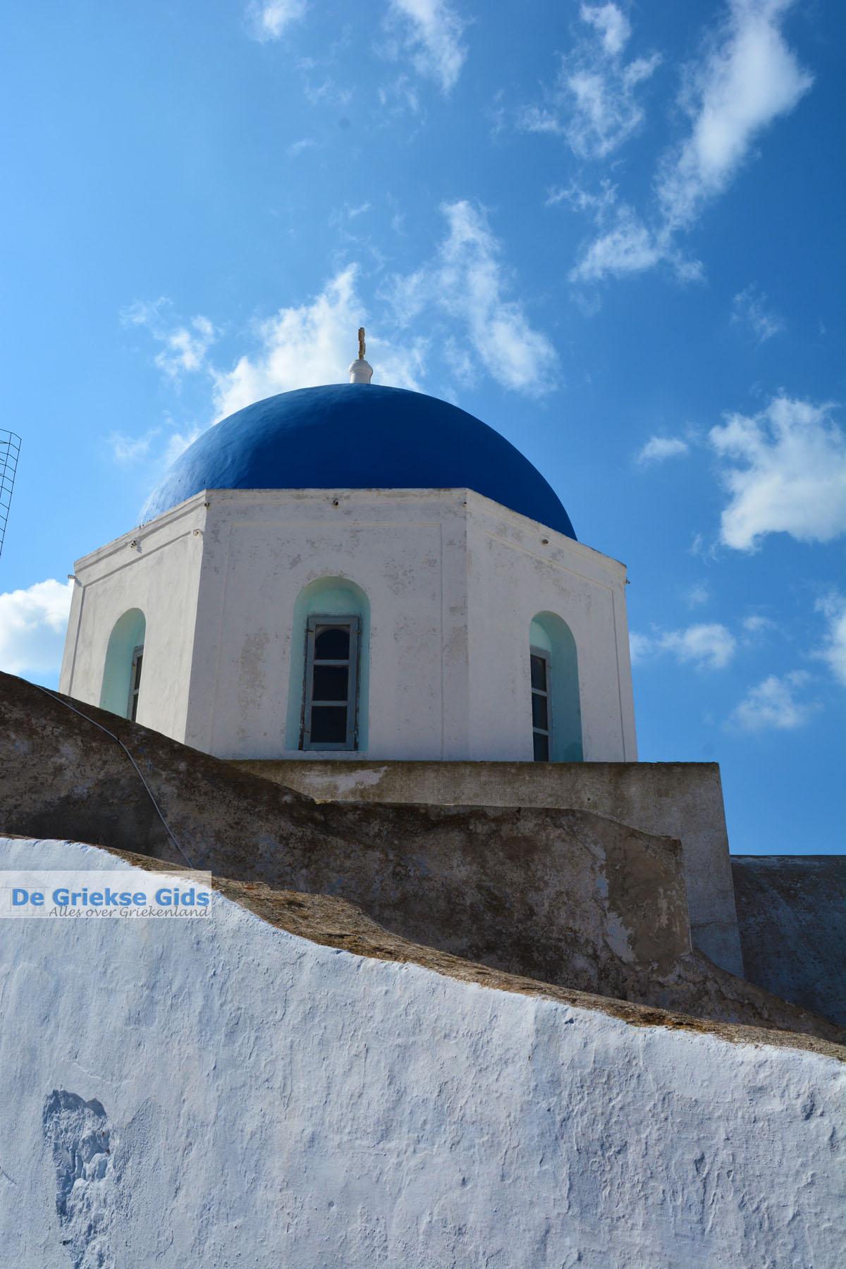 foto Megalochori Santorini   Cycladen Griekenland   Foto 29