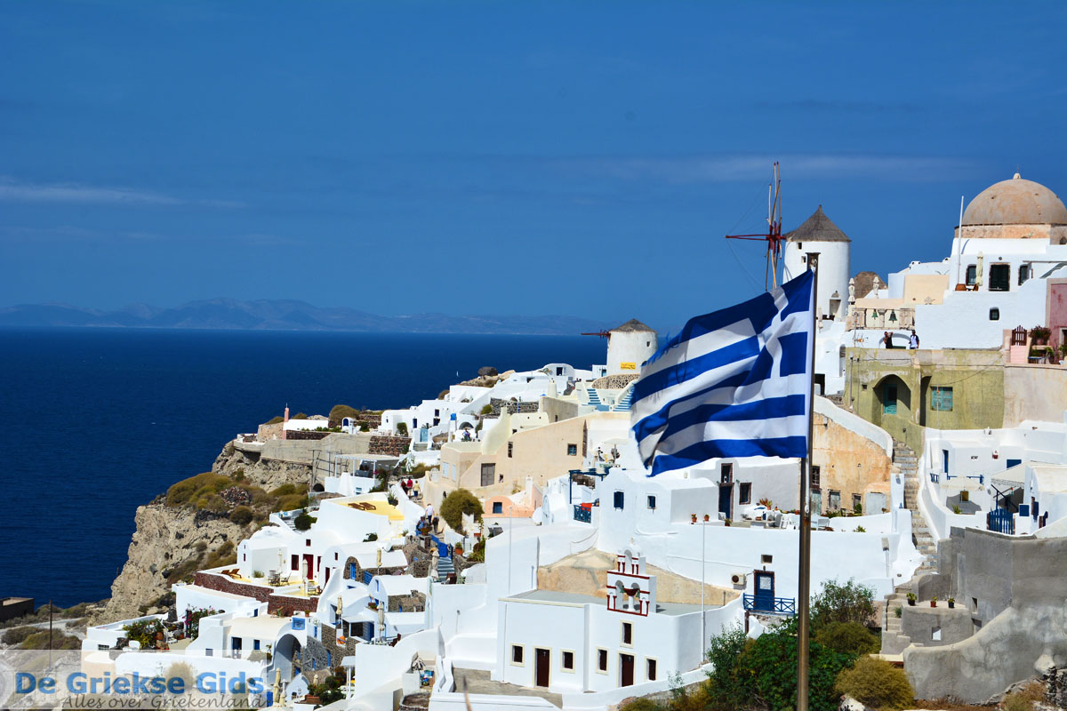 foto Oia Santorini | Cycladen Griekenland | Foto 1068