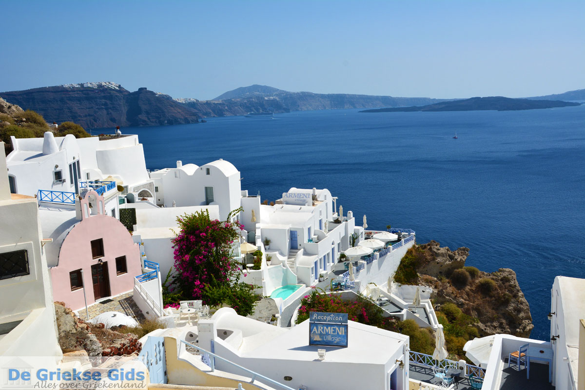 foto Oia Santorini | Cycladen Griekenland | Foto 1143