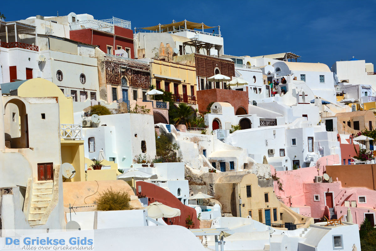 foto Oia Santorini | Cycladen Griekenland | Foto 1171