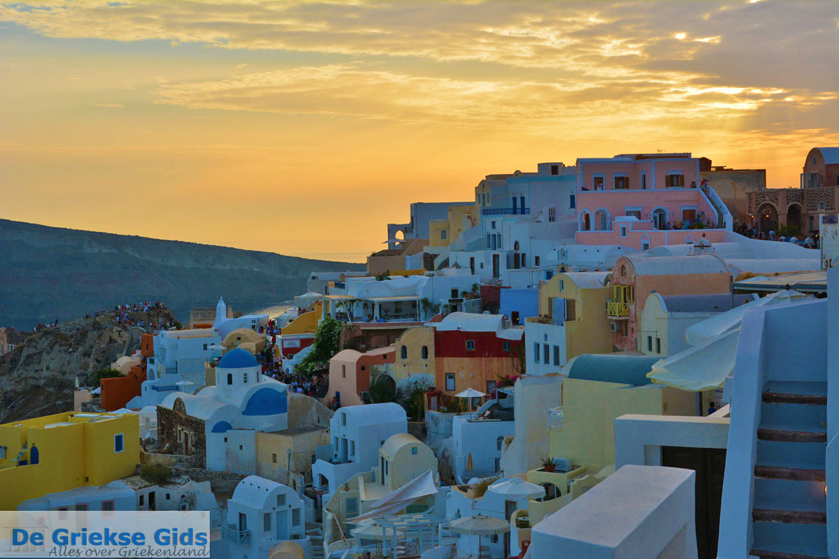 foto Oia Santorini | Cycladen Griekenland | Foto 1233