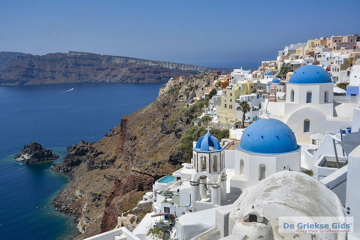 foto Prachtige foto van Oia op Santorini foto 3