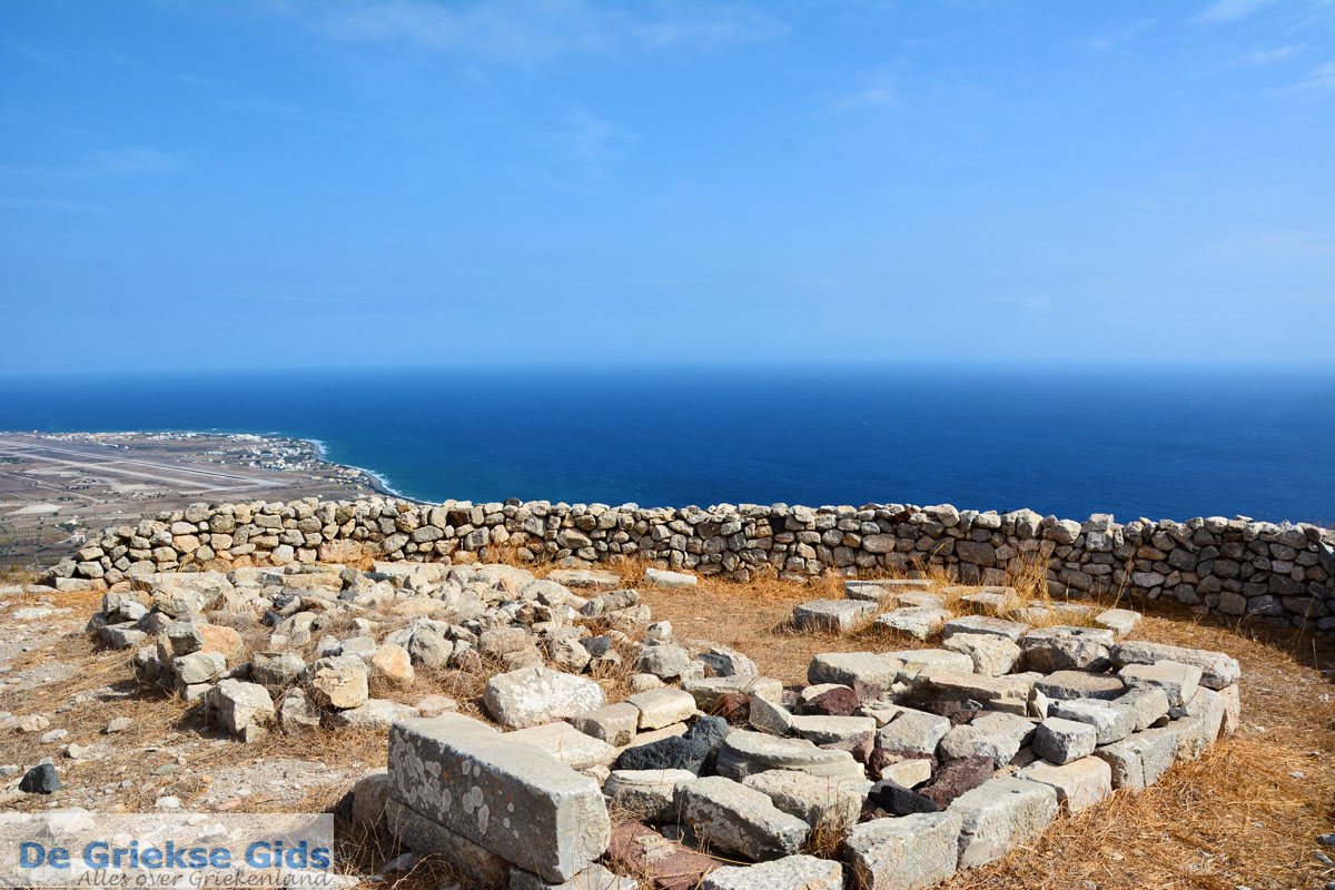 foto Oud-Thira Santorini | Cycladen Griekenland | Foto 23