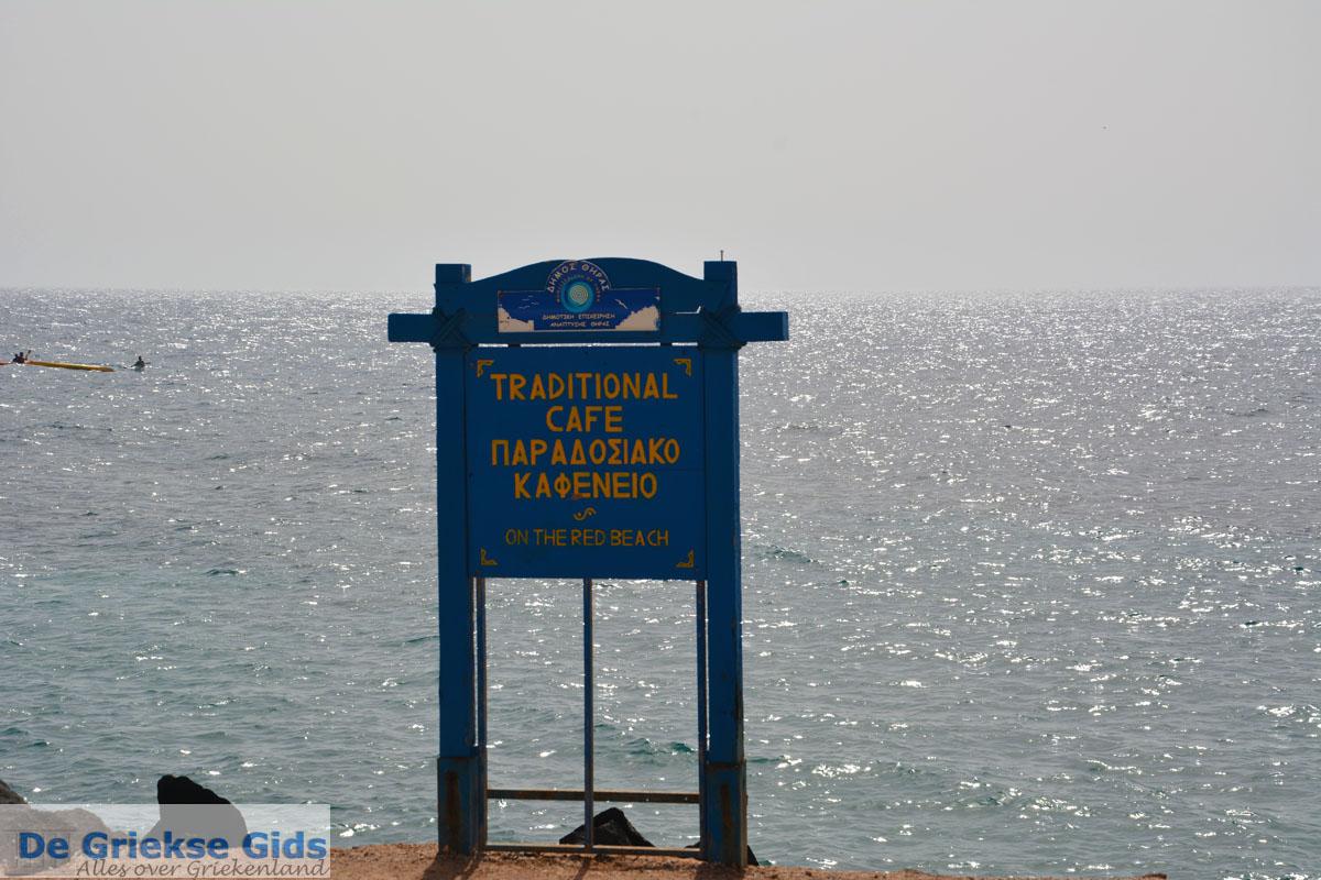 foto Red Beach Akrotiri Santorini | Cycladen Griekenland | Foto 185