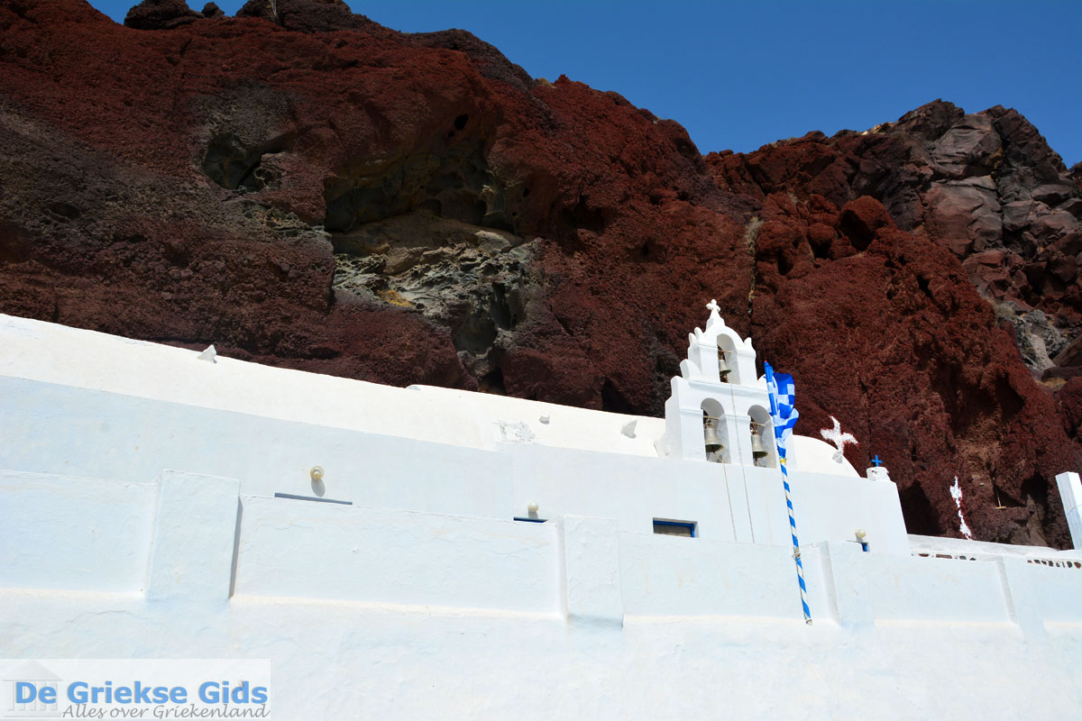 foto Red Beach Akrotiri Santorini | Cycladen Griekenland | Foto 202