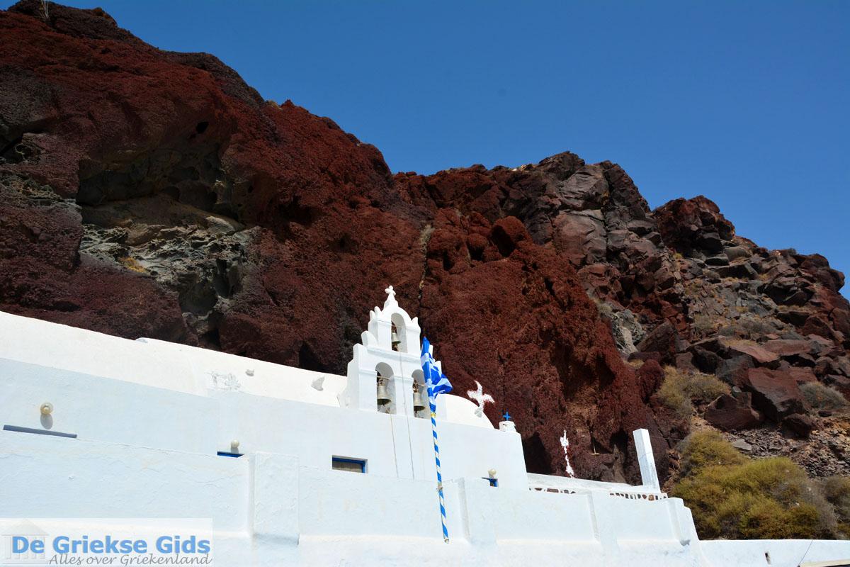 foto Red Beach Akrotiri Santorini | Cycladen Griekenland | Foto 203