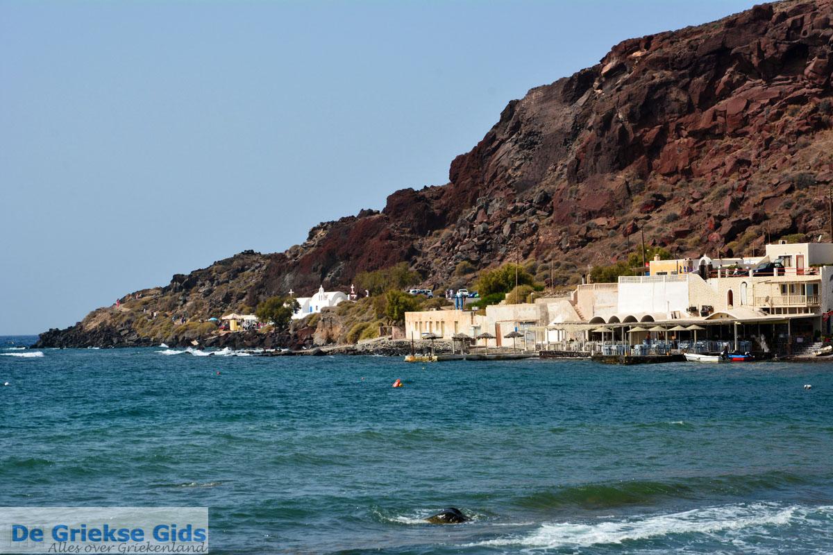 foto Red Beach Akrotiri Santorini | Cycladen Griekenland | Foto 206
