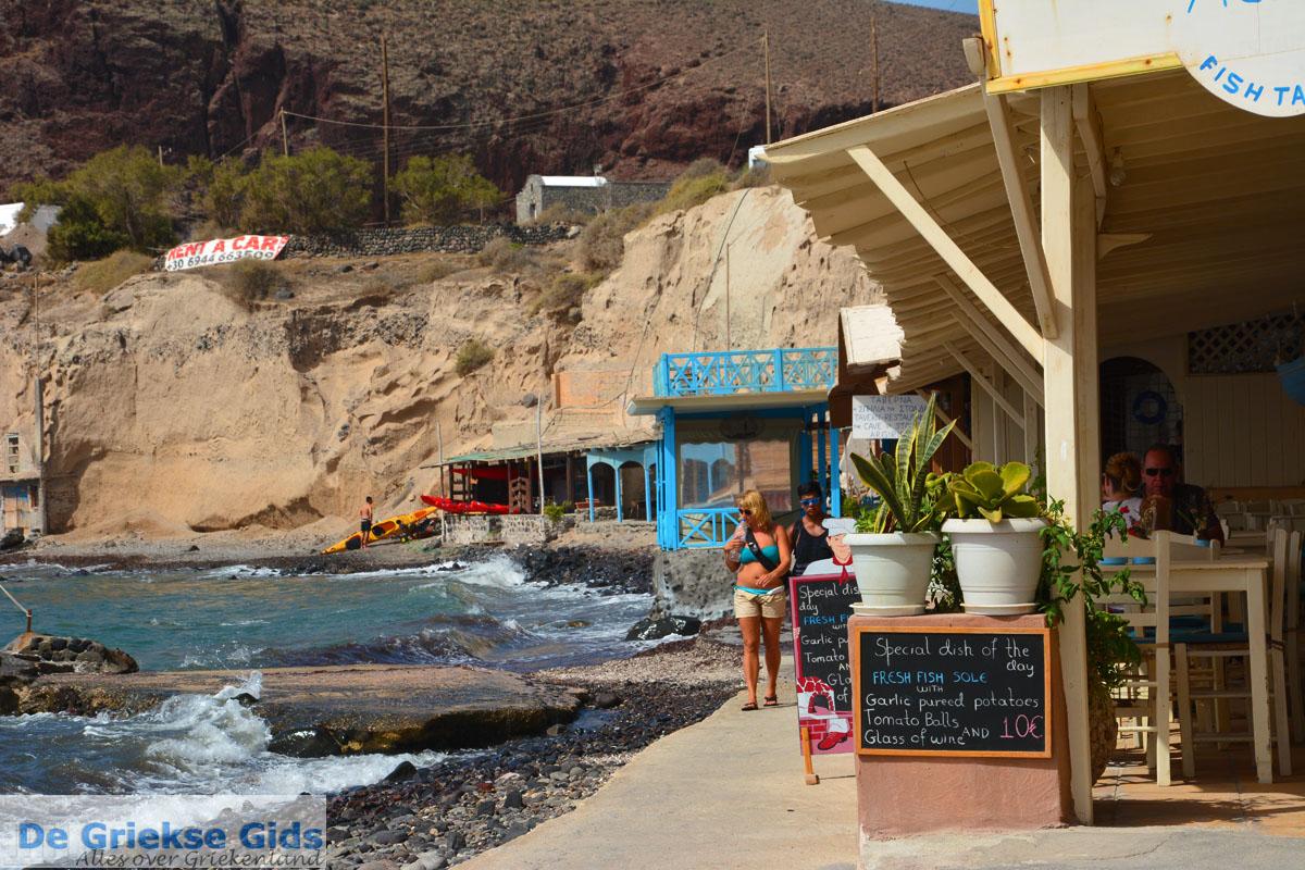 foto Red Beach Akrotiri Santorini | Cycladen Griekenland | Foto 208