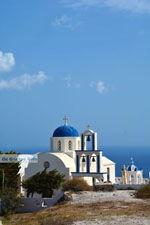 Kerk bij Kamari Santorini | Cycladen Griekenland  | Foto 84