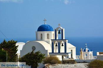 Kerk bij Kamari Santorini | Cycladen Griekenland  | Foto 82 - Foto van De Griekse Gids