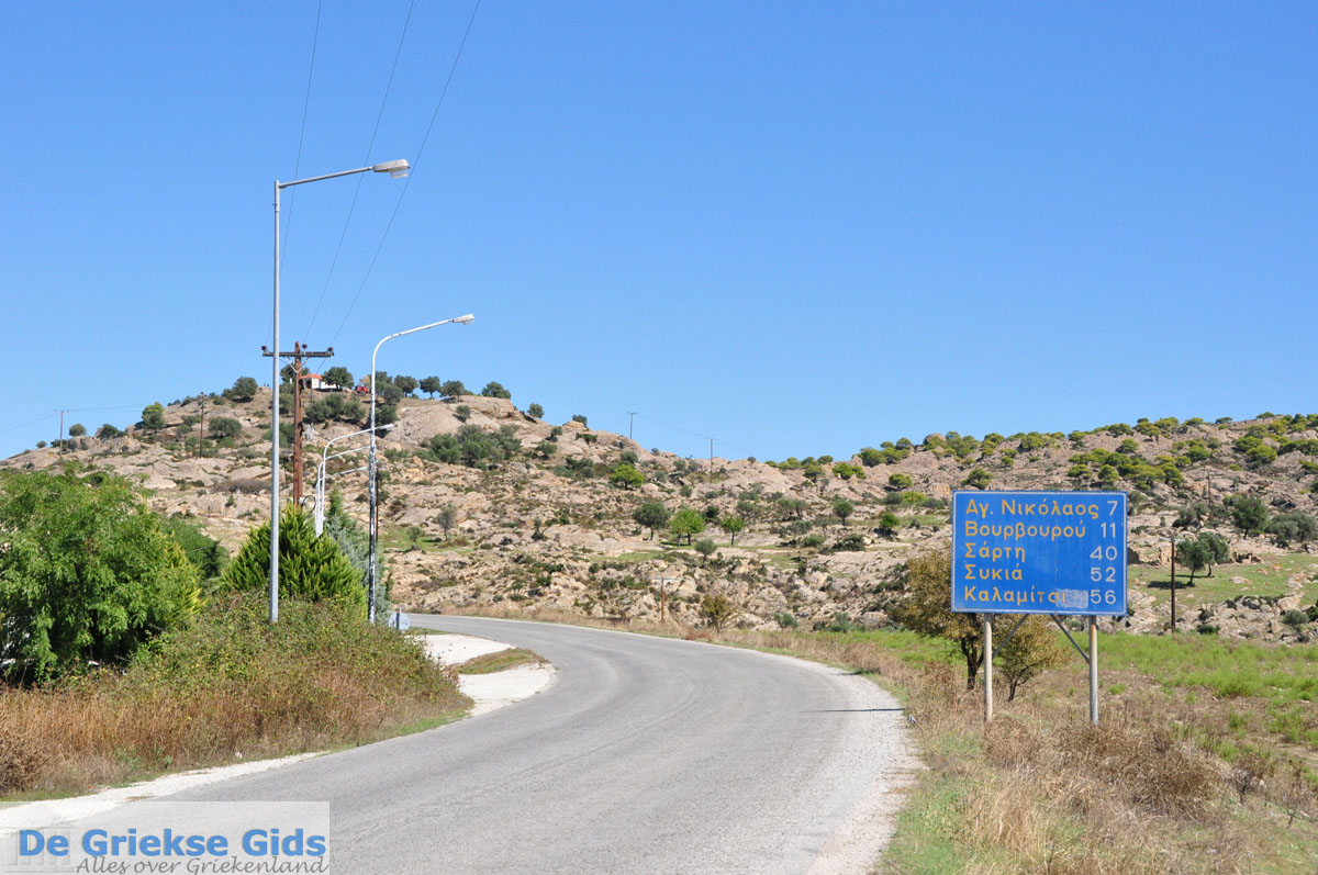 foto Onderweg van Nikiti naar Ormos Panagias   Chalkidiki   De Griekse Gids foto 1