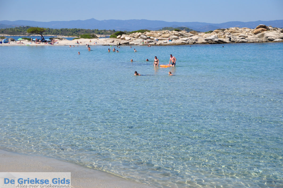 foto Stranden en natuur bij Vourvourou   Sithonia Chalkidiki   De Griekse Gids foto 24