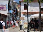 Winkelstraat Papadiamantis in Skiathos-stad foto 3 - Foto van De Griekse Gids