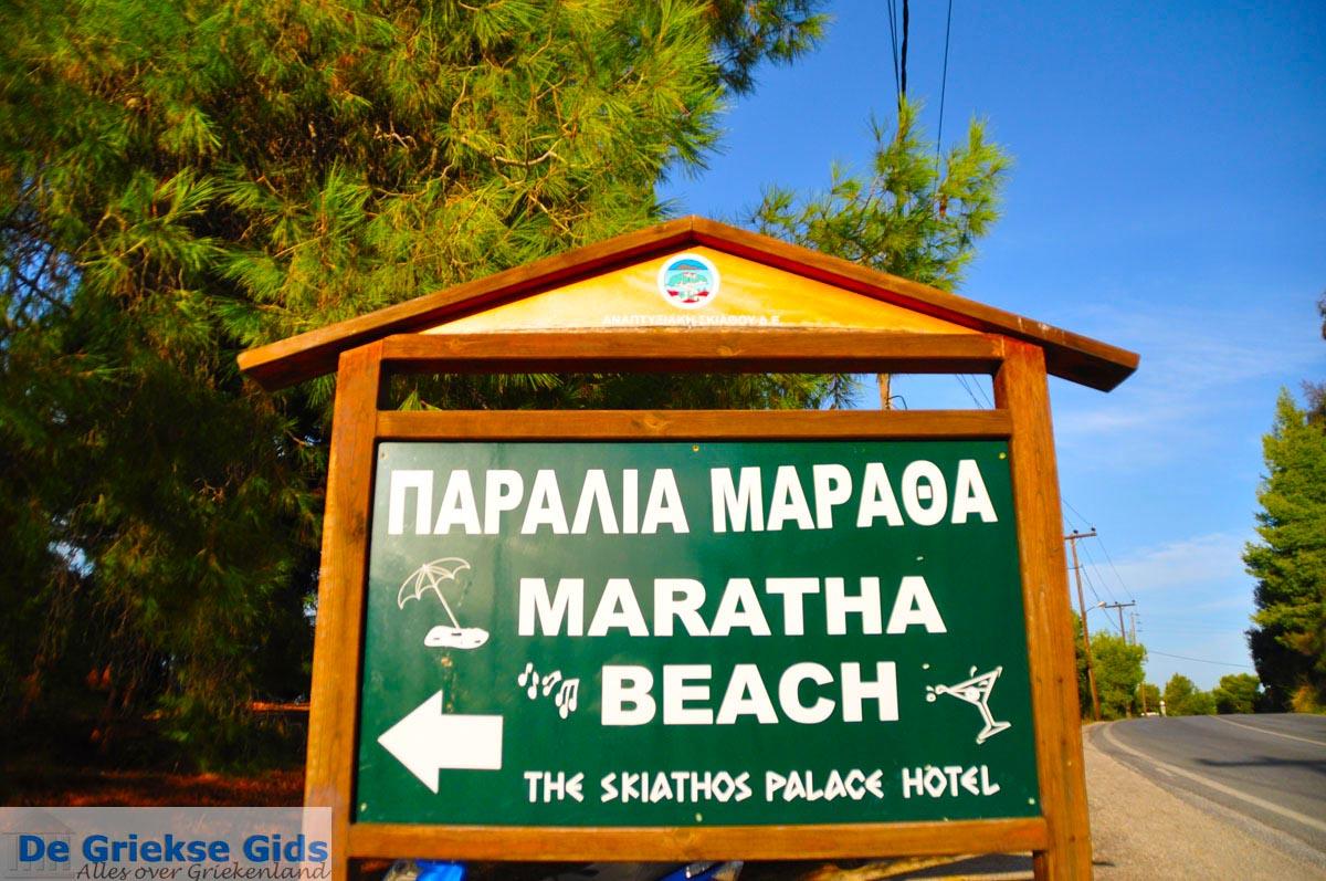foto Maratha beach bij Koukounaries | Skiathos Sporaden | De Griekse Gids foto 1