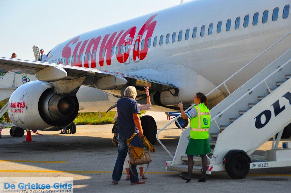 foto Sunweb Transavia vliegtuig | Skiathos Sporaden | De Griekse Gids foto 2