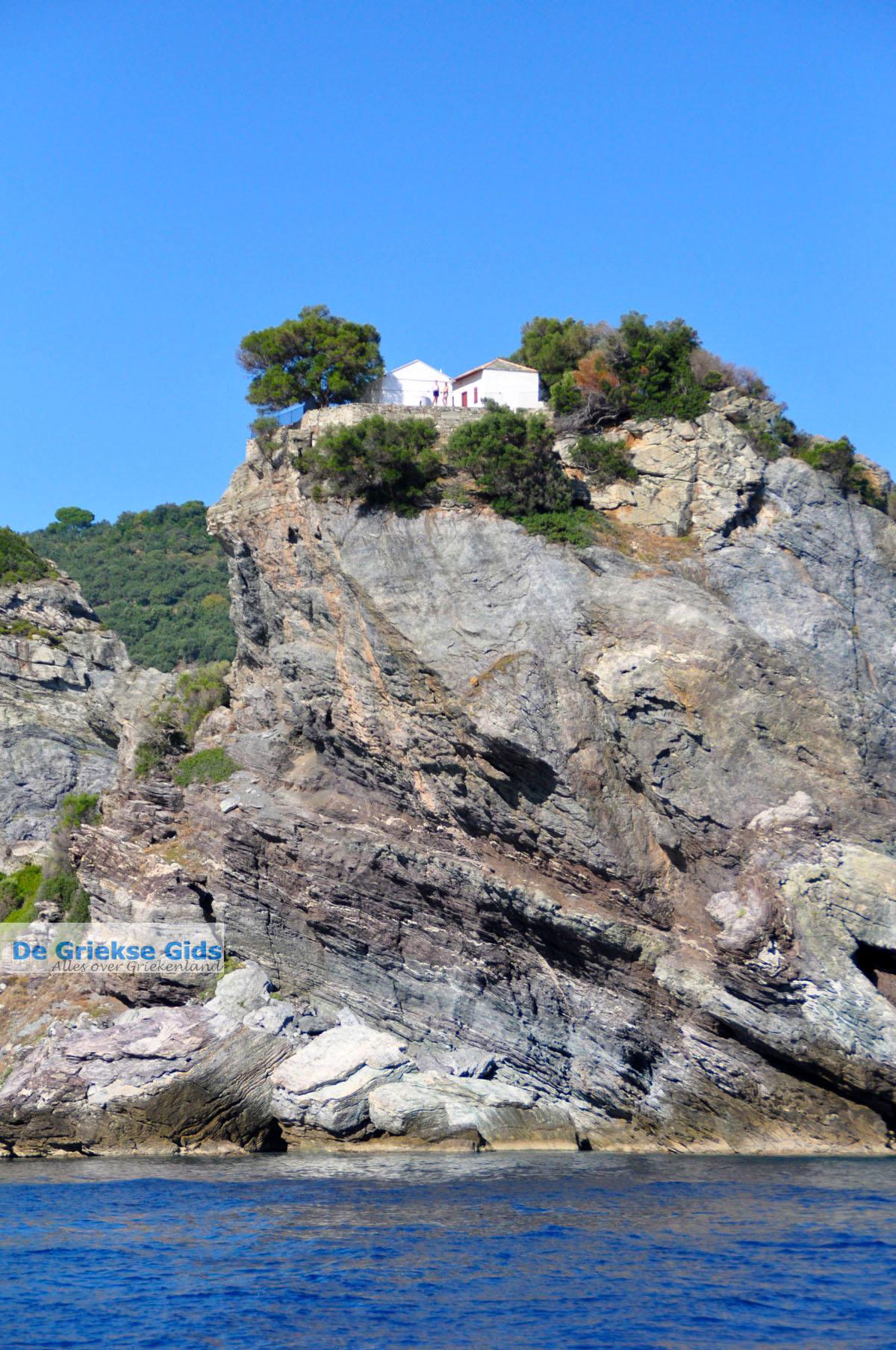 foto Agios Ioannis Kastri   Mamma Mia kerkje Skopelos   Sporaden Griekse Gids 6