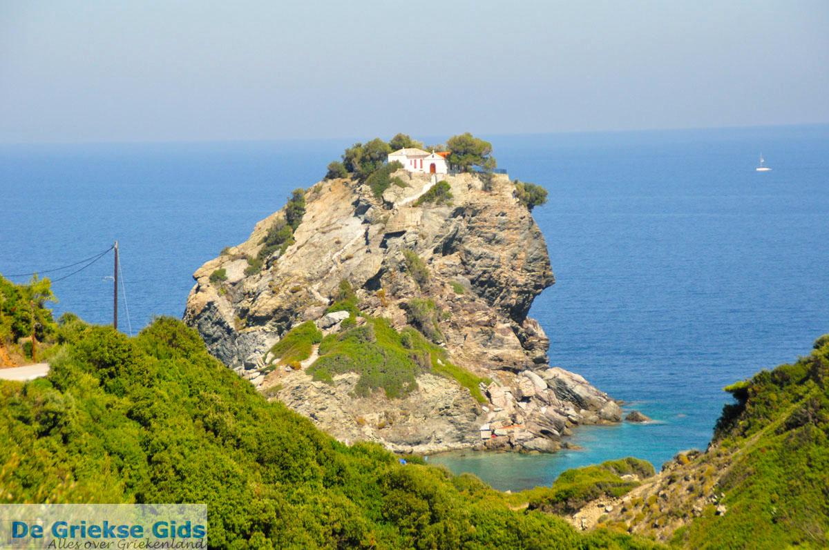 foto Agios Ioannis Kastri   Mamma Mia kerkje Skopelos   Sporaden Griekse Gids 29
