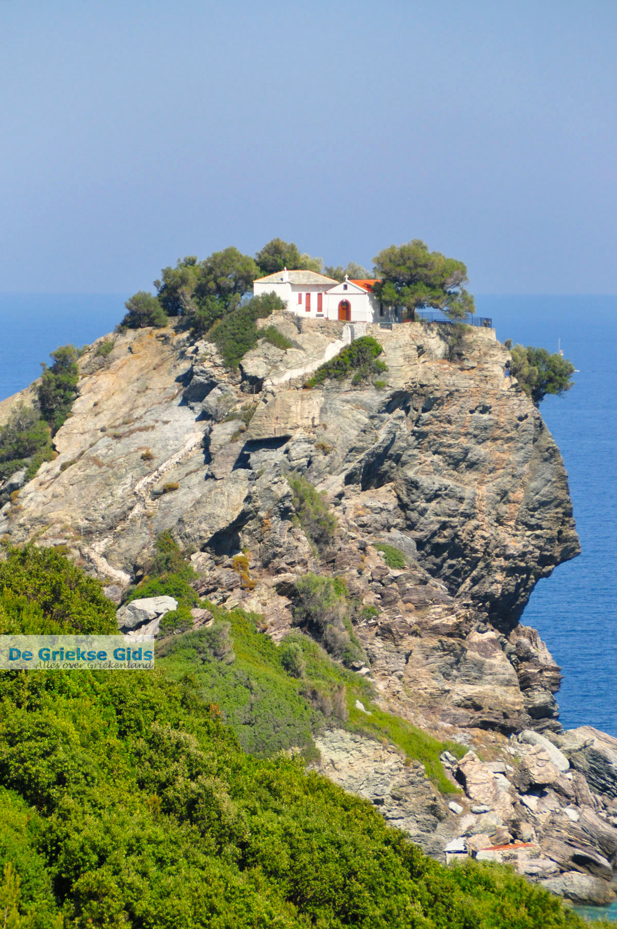foto Agios Ioannis Kastri | Mamma Mia kerkje Skopelos | Sporaden Griekse Gids 30