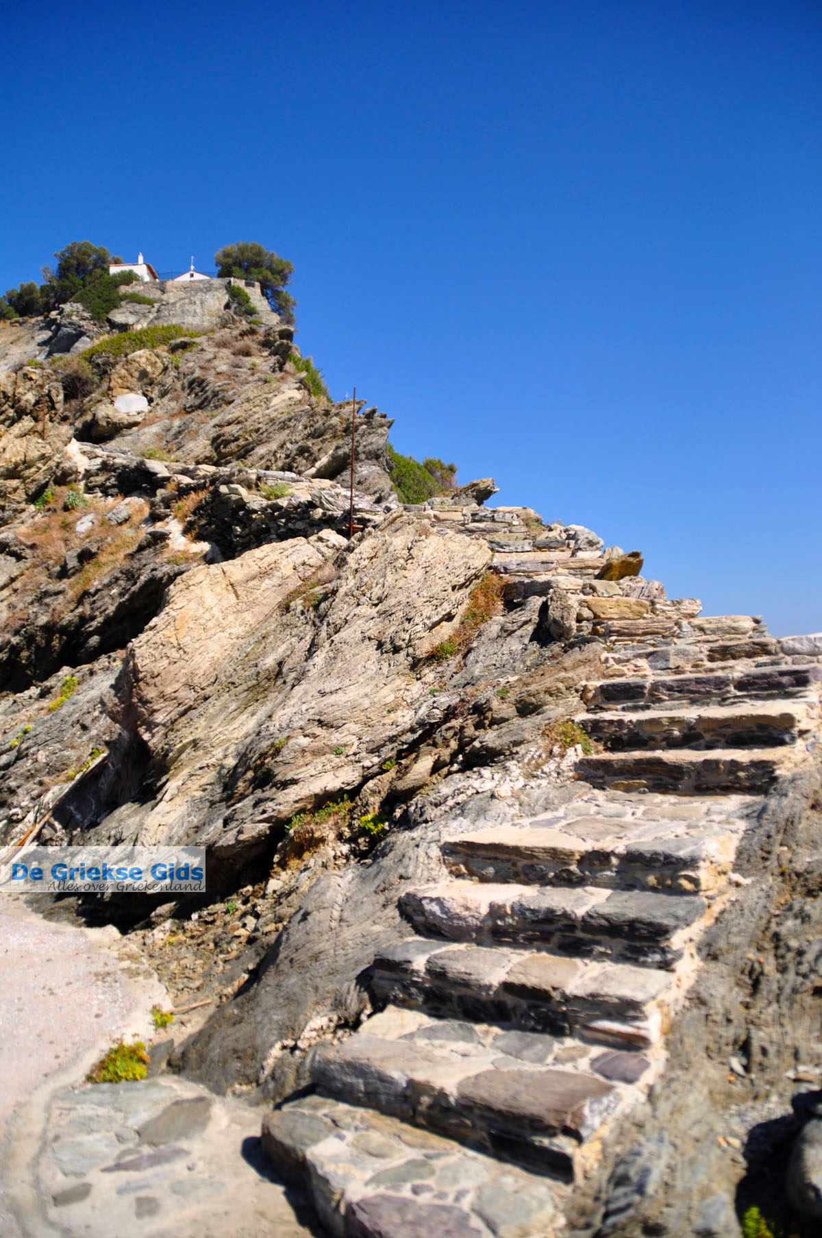 foto Agios Ioannis Kastri | Mamma Mia kerkje Skopelos | Sporaden Griekenland 40