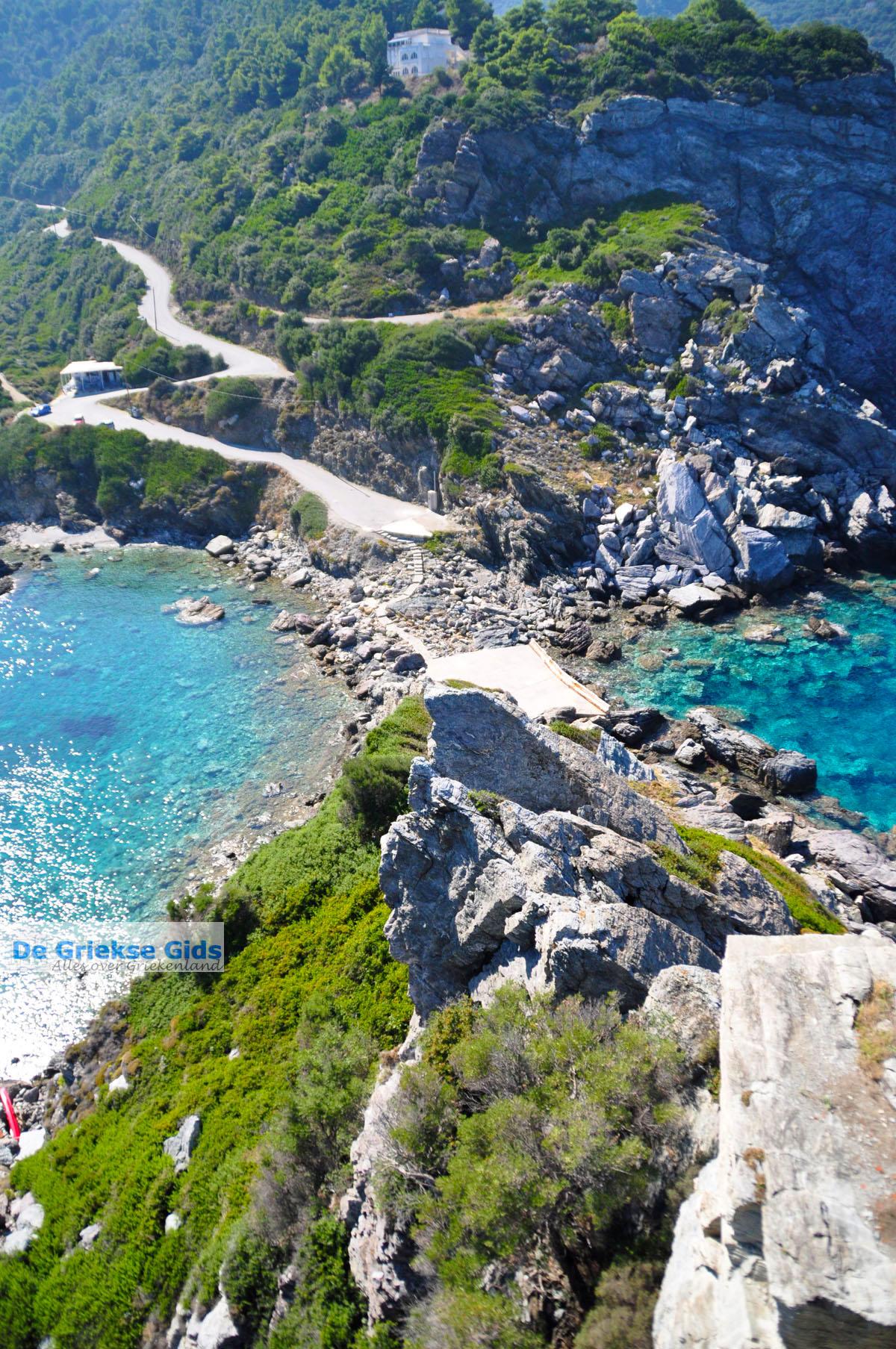 foto Agios Ioannis Kastri   Mamma Mia kerkje Skopelos   Sporaden Griekenland 55