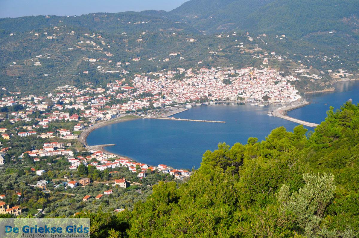 foto Panoramafoto Skopelos stad | Sporaden Griekenland foto 1