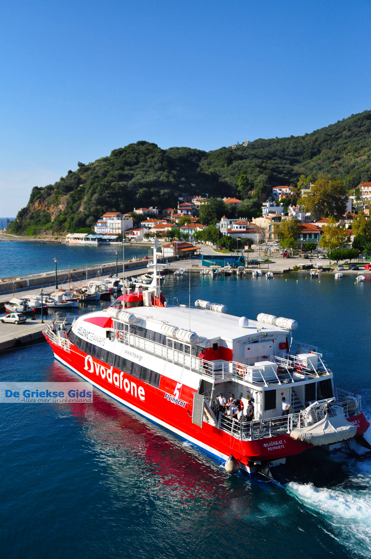 foto Flying Cat Loutraki Skopelos | Sporaden Griekenland