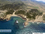 Luchtfoto Strand Polichri | Skyros | Griekenland - Foto van Kyriakos Antonopoulos