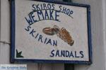 Skyriaanse sandalen | Skyros stad foto 2 - Foto van De Griekse Gids