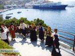 Traditionele dansen Cafetaria Kavos - Linaria Skyros - Foto van Kyriakos Antonopoulos