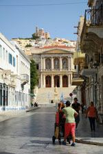 Miaoulisplein Ermoupolis | Syros | Griekenland foto 163 - Foto van De Griekse Gids