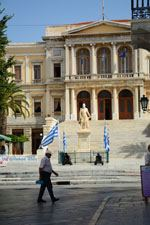 Miaoulisplein Ermoupolis | Syros | Griekenland foto 165 - Foto van De Griekse Gids