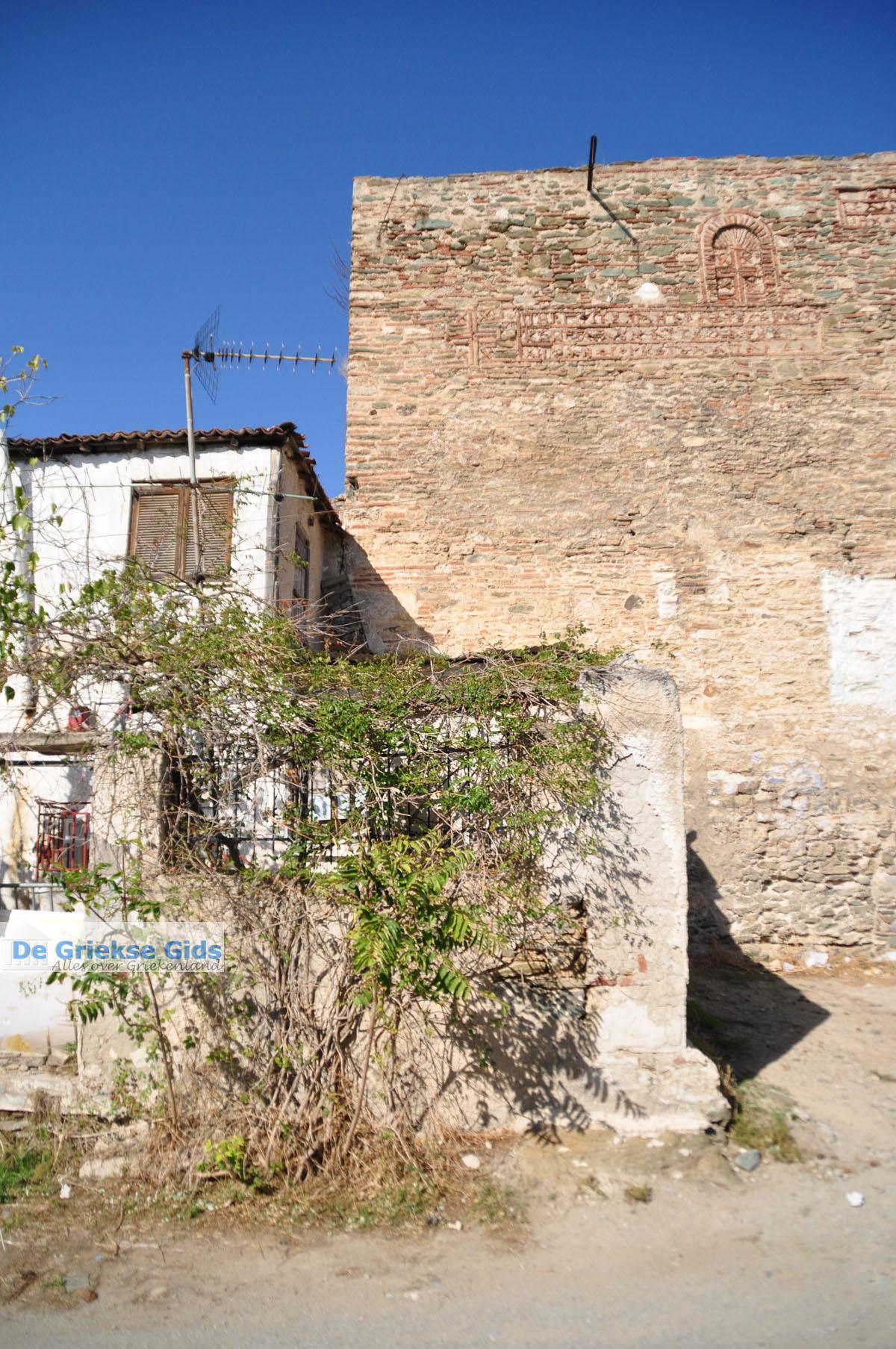 foto Byzantijnse muren en kasteel bovenstad | Thessaloniki Macedonie | De Griekse Gids foto 1
