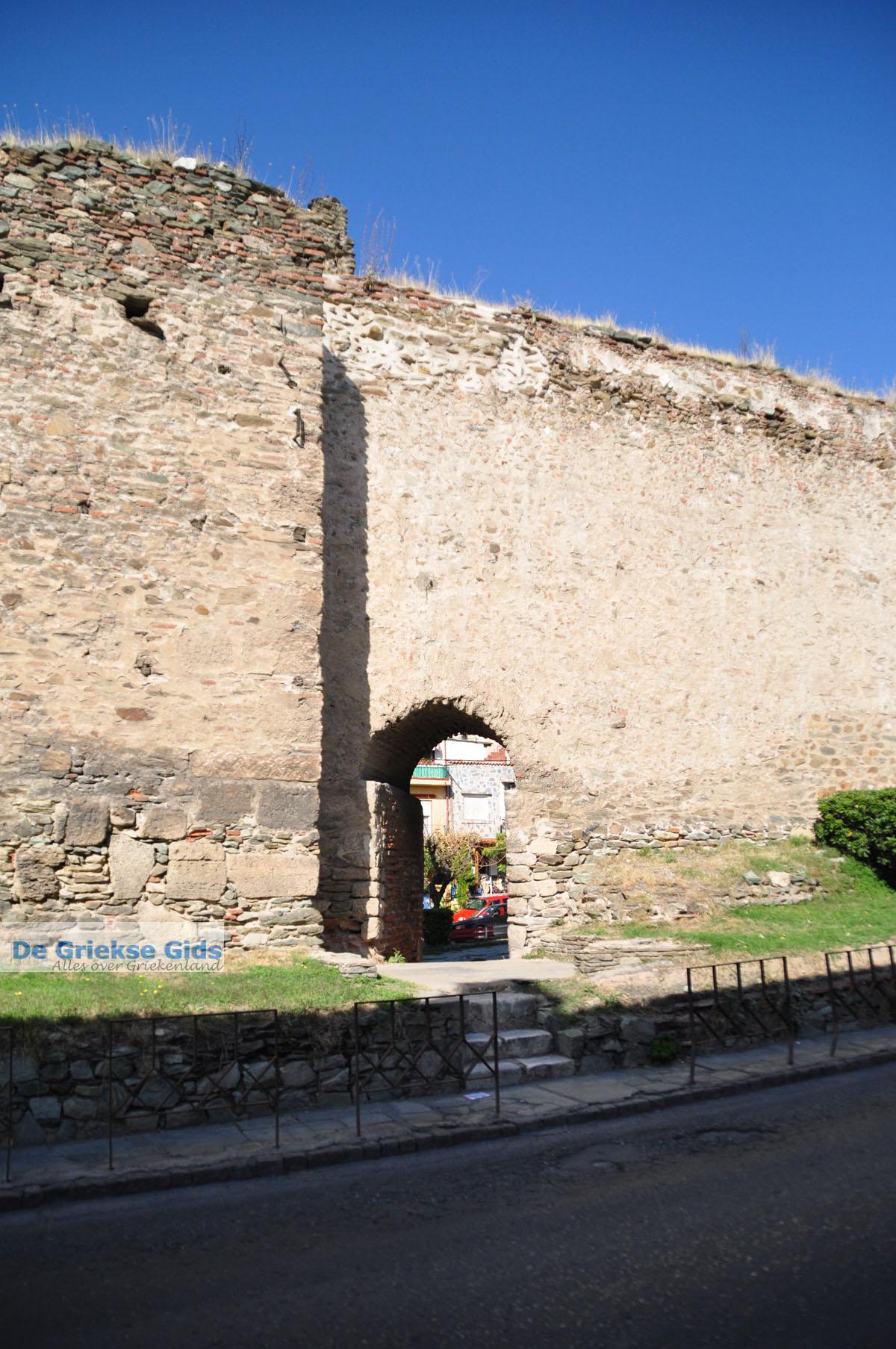 foto Byzantijnse muren en kasteel bovenstad | Thessaloniki Macedonie | De Griekse Gids foto 5