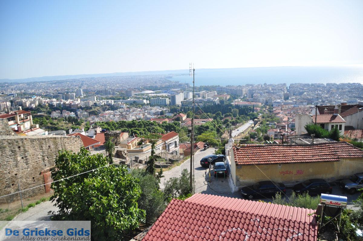 foto Byzantijnse muren en kasteel bovenstad | Thessaloniki Macedonie | De Griekse Gids foto 10