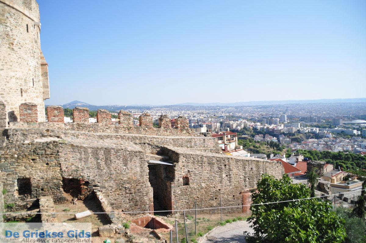 foto Byzantijnse muren en kasteel bovenstad | Thessaloniki Macedonie | De Griekse Gids foto 11