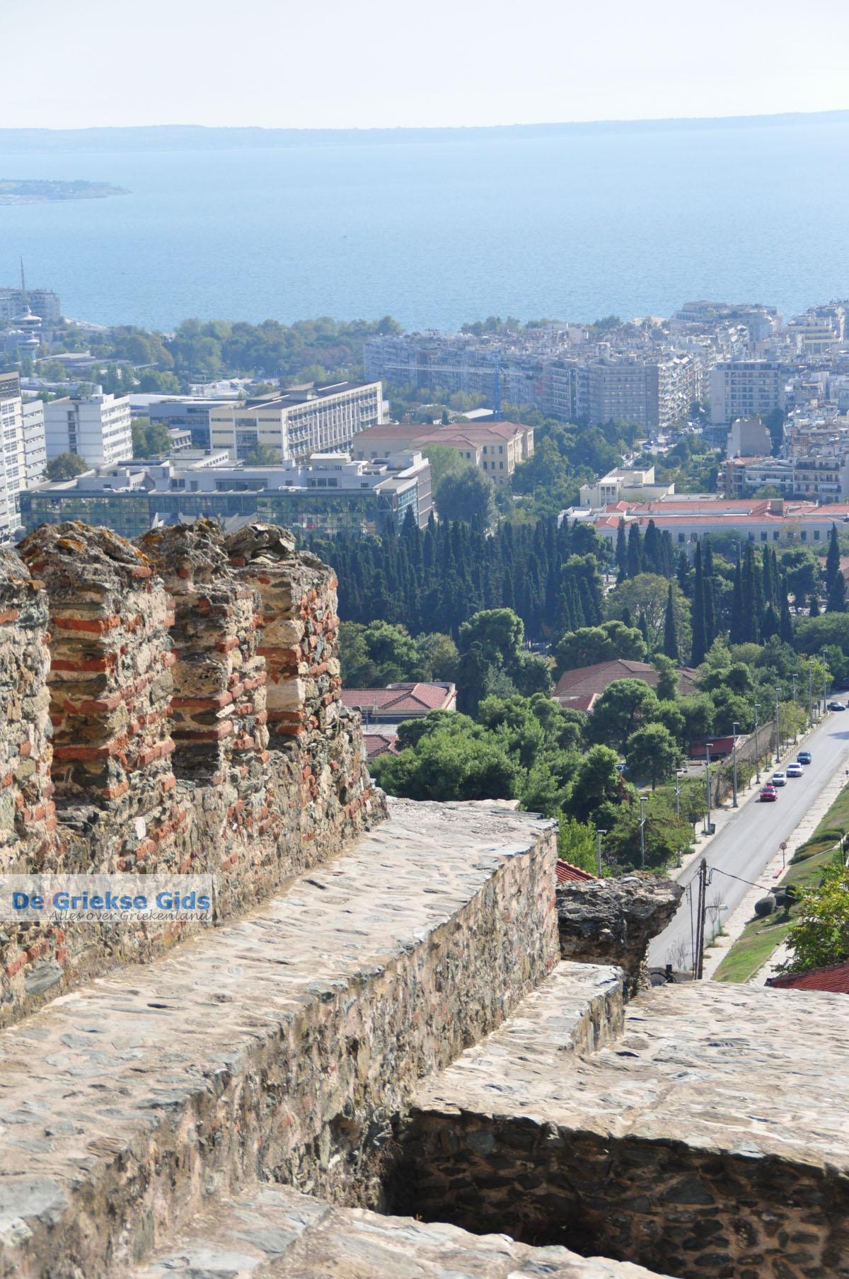 foto Byzantijnse muren en kasteel bovenstad | Thessaloniki Macedonie | De Griekse Gids foto 16