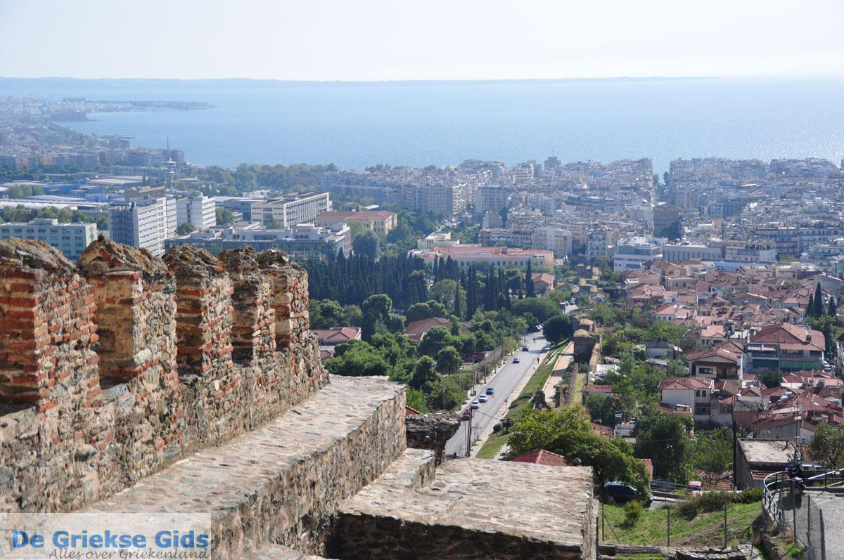 foto Byzantijnse muren en kasteel bovenstad | Thessaloniki Macedonie | De Griekse Gids foto 17