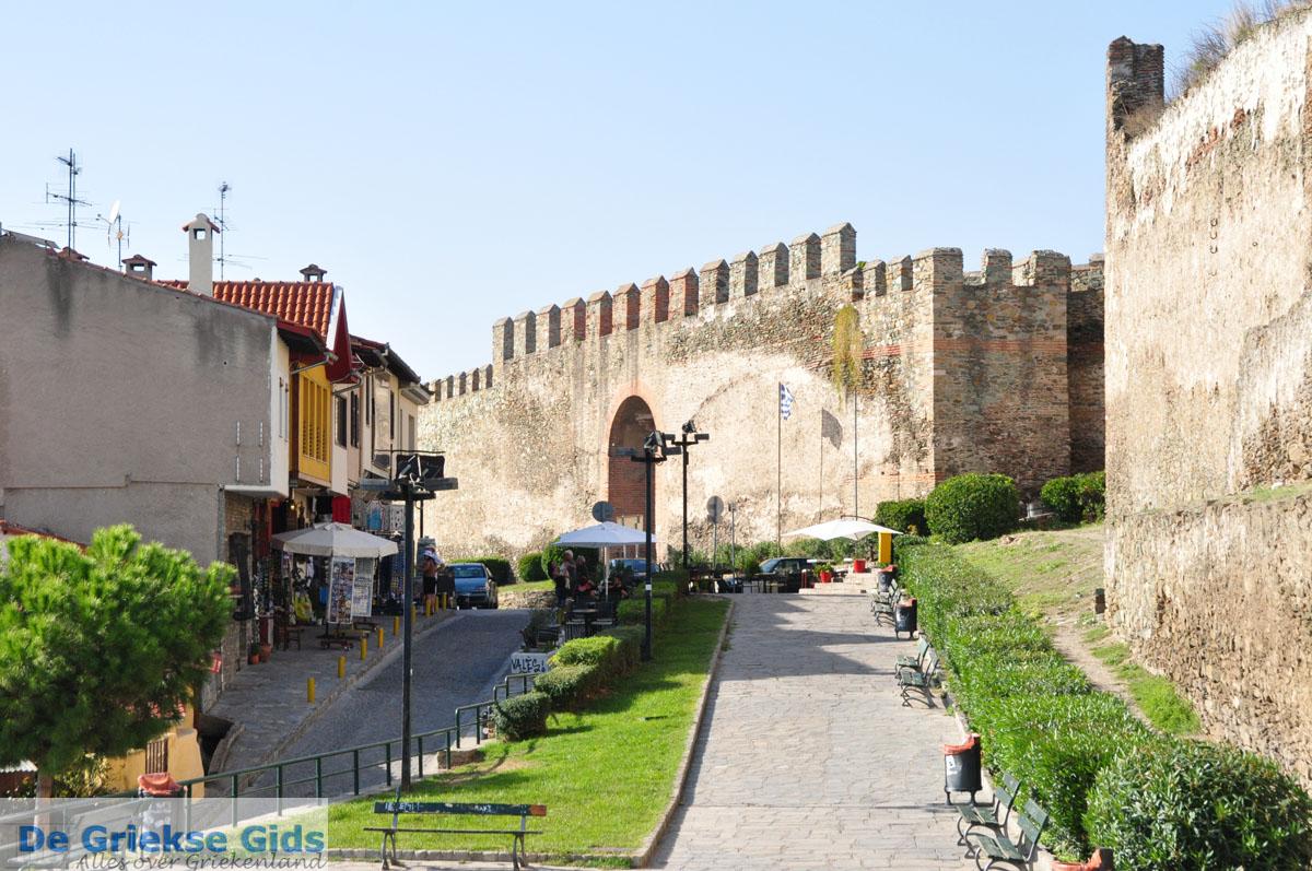 foto Byzantijnse muren en kasteel bovenstad | Thessaloniki Macedonie | De Griekse Gids foto 19