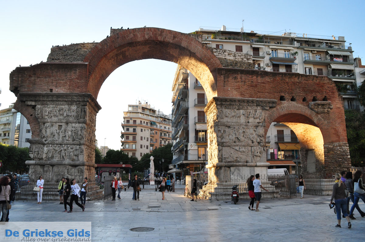 foto Triomfboog Galerius | Thessaloniki Macedonie | De Griekse Gids foto 2