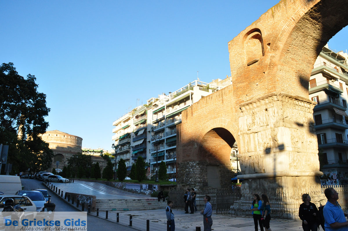 foto Triomfboog Galerius en Rotonda | Thessaloniki Macedonie | De Griekse Gids