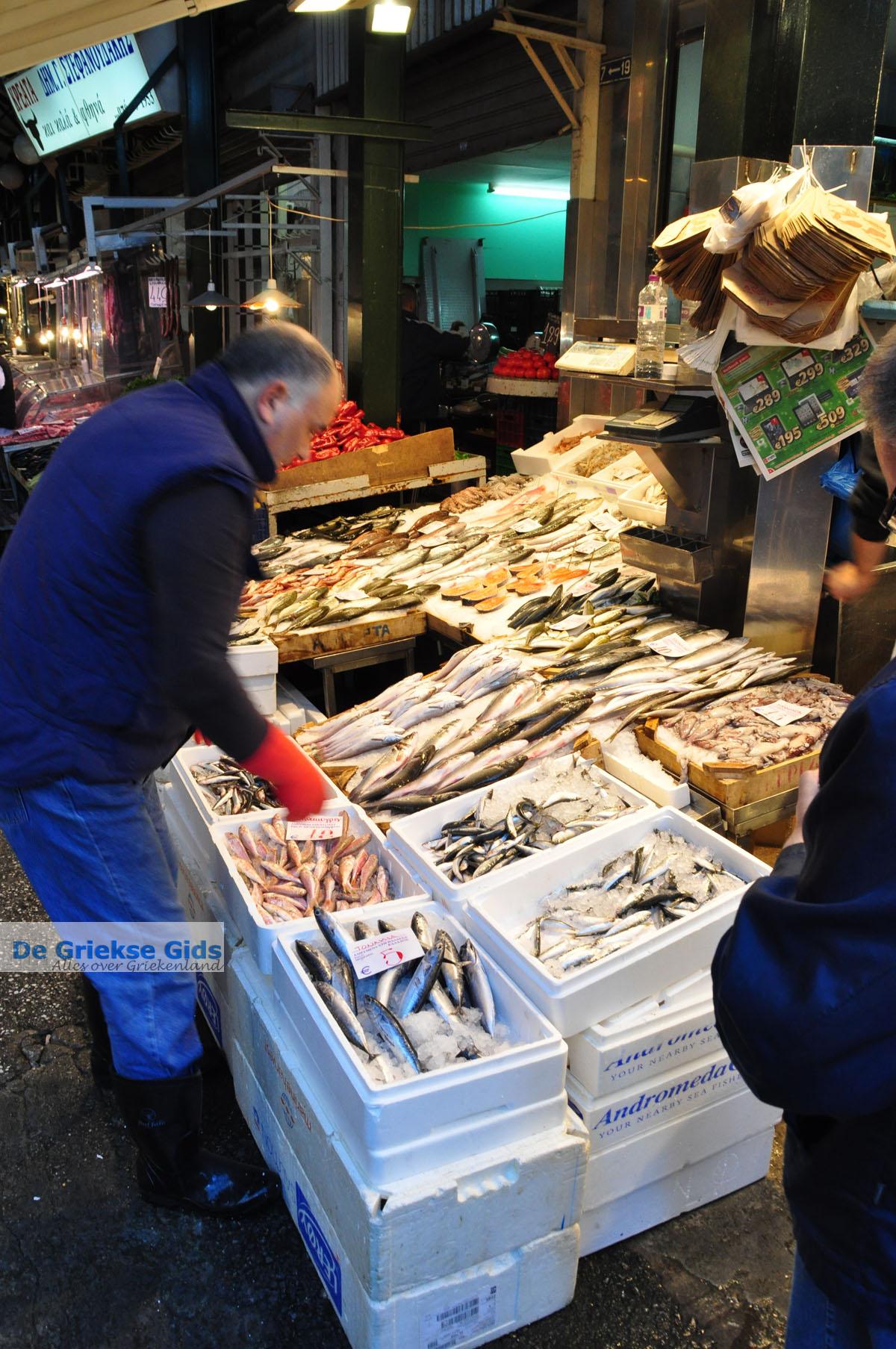 foto Overdekte Modiano Markt | Thessaloniki Macedonie | De Griekse Gids foto 9