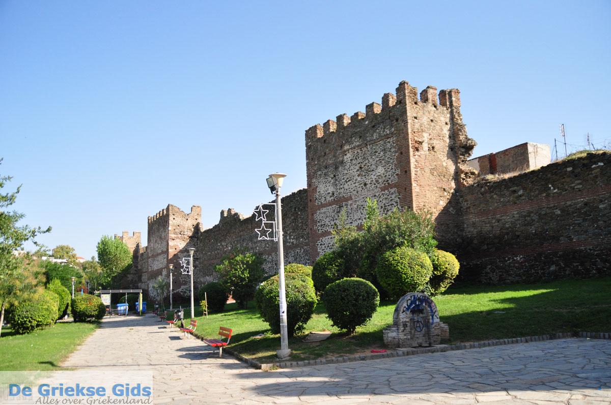 foto Byzantijnse muren bovenstad | Thessaloniki Macedonie | De Griekse Gids foto 46