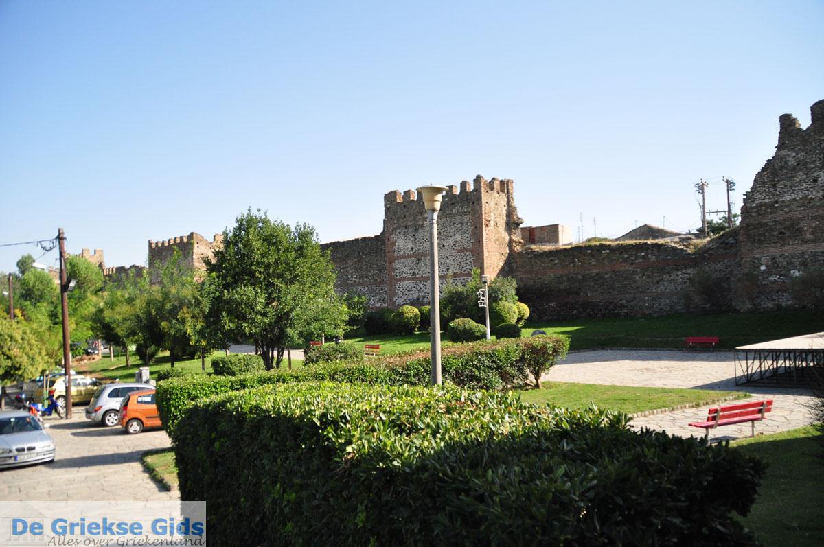 foto Byzantijnse muren bovenstad | Thessaloniki Macedonie | De Griekse Gids foto 47