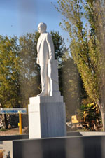 GriechenlandWeb.de Standbeeld Karamanlis | Thessaloniki Macedonie | GriechenlandWeb.de - Foto GriechenlandWeb.de