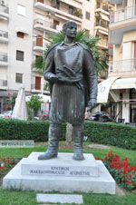 Standbeeld Kretenzer strijder | Thessaloniki Macedonie | De Griekse Gids foto 2 - Foto van De Griekse Gids